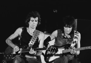 rolling stones keith richards ron wood