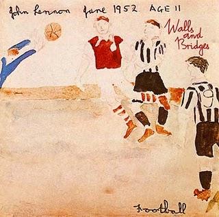 John Lennon: Walls And Bridges lemezének borítója